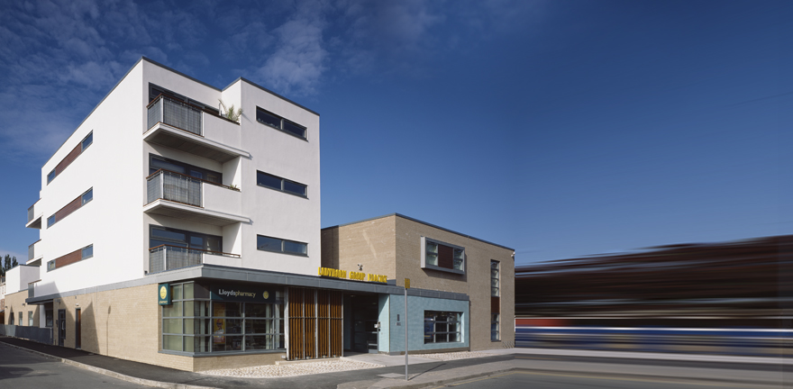 Ladybarn Surgery by MBLA Architects + Urbanists