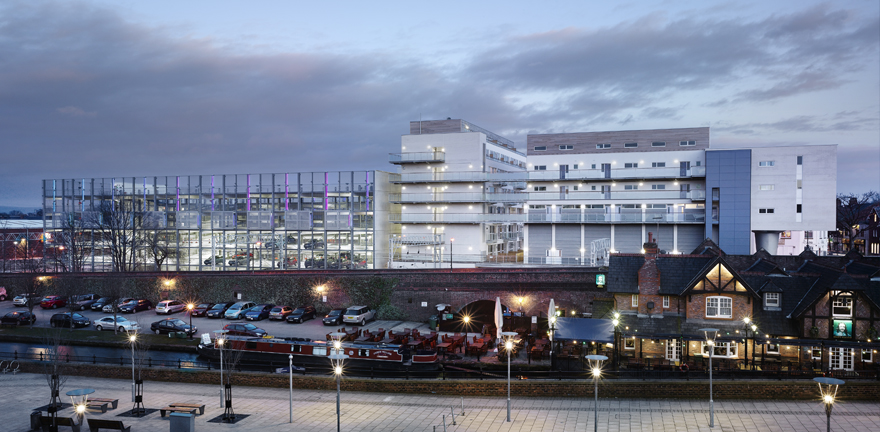 Sale Town Centre Car Park by MBLA Architects + Urbanists