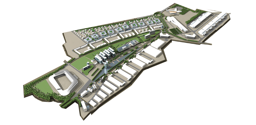 Newbridge Masterplan by MBLA Architects + Urbanists